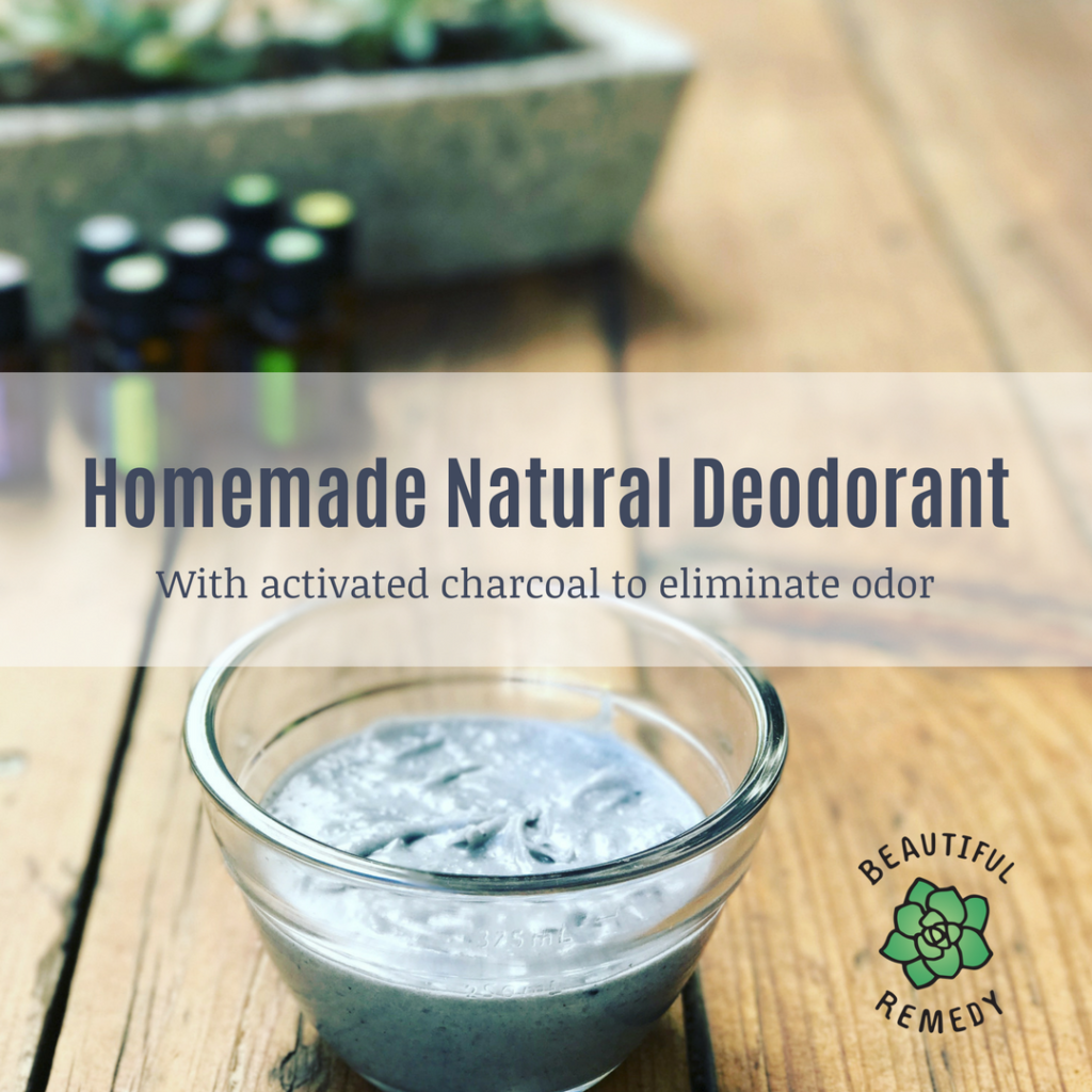 Homemade natural deodorant - Beautiful